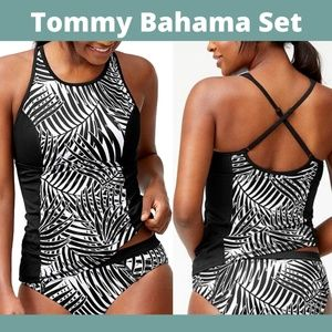 NEW Tommy Bahama Active Frond Song Top Bottom 2PC